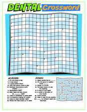 Dental Crossword activity sheet - Pediatric Dentist in Cary, NC
