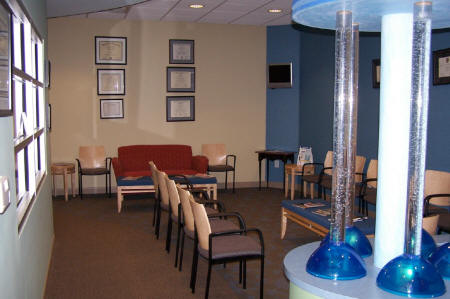 Sitting Area - Pediatric Dentist in Cary, NC